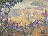 Au Temps d'Harmonie c1893 By Paul Signac