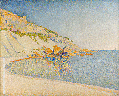 Cassis 1889 By Paul Signac
