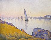Evening Calm Concarneau Opus220 1891 By Paul Signac