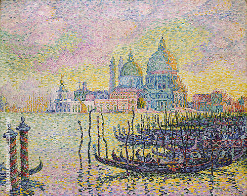 Grand Canal Venise 1905 Painting By Paul Signac - Reproduction Gallery