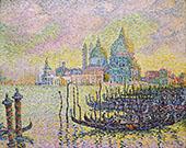 Grand Canal Venise 1905 By Paul Signac
