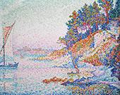 La Calanque The Bay 1906 By Paul Signac