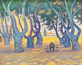 Place des Lices 1893 By Paul Signac
