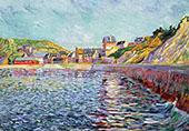 Port en Bessin Calvados c1884 By Paul Signac
