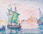 Venice The Pink Cloud 1909 By Paul Signac