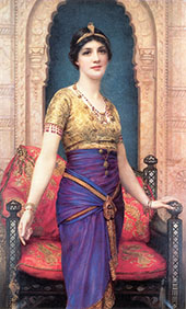 An Egyptian Beauty By William Clarke Wontner