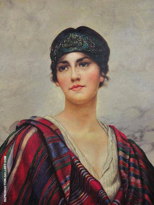 Femme Fatale Painting By William Clarke Wontner - Reproduction Gallery
