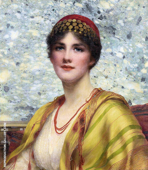 Leonora Painting By William Clarke Wontner - Reproduction Gallery
