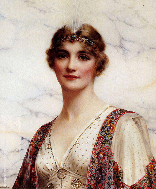 The Fair Persian Painting By William Clarke Wontner - Reproduction Gallery