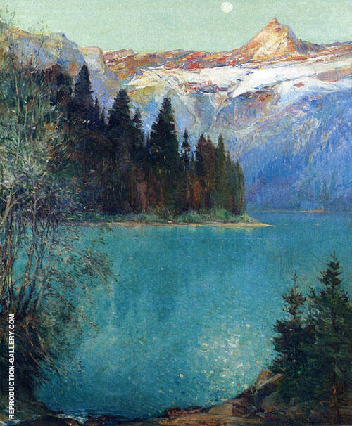 Avalanche Lake 1915 By Oliver Dennett Grover