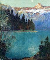 Avalanche Lake 1915 By Oliver Dennett Grover