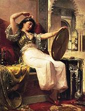 Harem Scene 1899 By Oliver Dennett Grover
