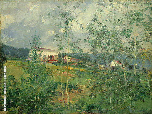 Hillside in Summer 1919 By Oliver Dennett Grover