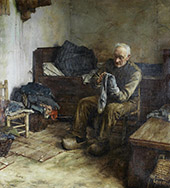 A Flemish Peasant By Walter Langley