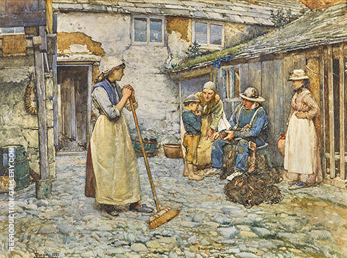 An Authority 1882 By Walter Langley