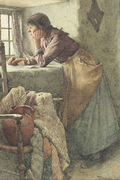 A Reverie By Walter Langley