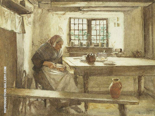 A Simple Meal By Walter Langley