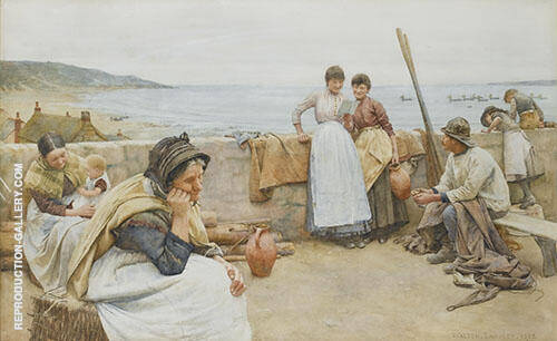 A Village Idyll 1888 By Walter Langley