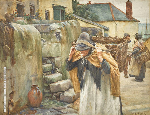 Carrying The Catch By Walter Langley