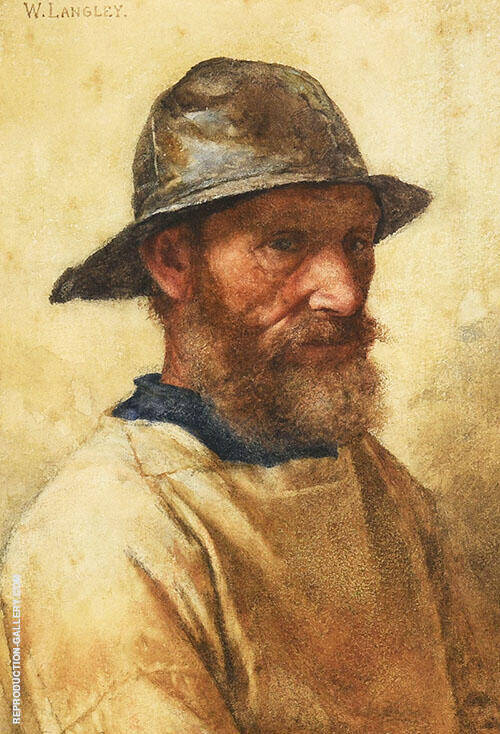 Fisherman Painting By Walter Langley - Reproduction Gallery