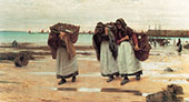 The Breadwinners By Walter Langley