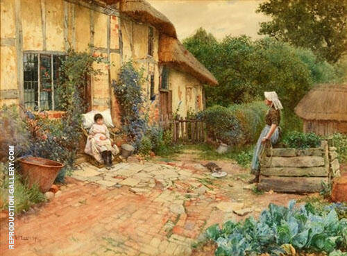 The Convalescent 1893 By Walter Langley