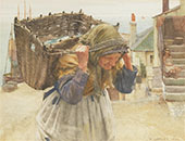 The Fish Wife 1890 By Walter Langley