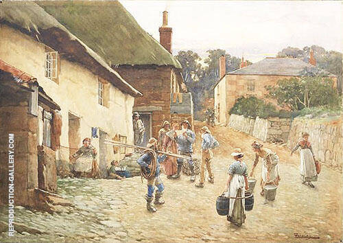 The Letter Painting By Walter Langley - Reproduction Gallery
