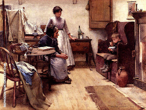 The Orphan 1889 By Walter Langley