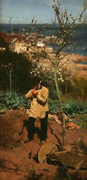 The Sunny South By Walter Langley