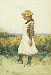 Towards The Sea By Walter Langley