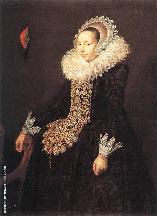 Catharina Both Van Der Eem Bride of Paulus Beresteyn 1629 By Frans Hals