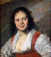 Gypsy Girl 1628 By Frans Hals