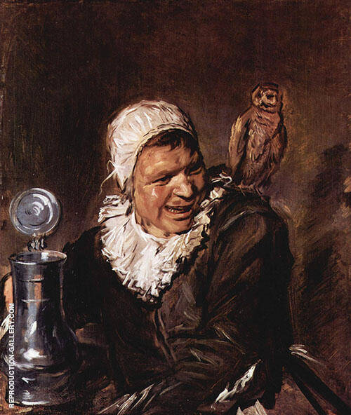 Malle Babbe 1630 Painting By Frans Hals - Reproduction Gallery