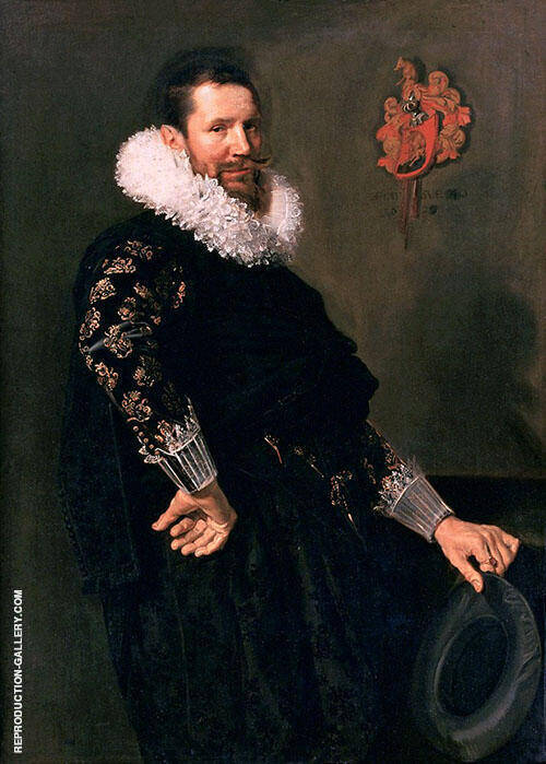 Paulus van Beresteyn 1629 Painting By Frans Hals - Reproduction Gallery