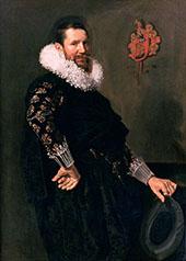 Paulus van Beresteyn 1629 By Frans Hals