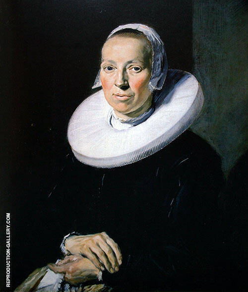Portrait of a Woman 1644 By Frans Hals