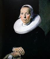 Portrait of a Woman 1644 By Frans Hals