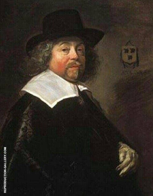 Portrait of Joseph Coymans 1664 By Frans Hals
