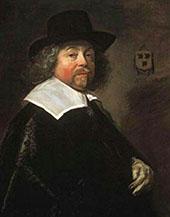 Portrait of Joseph Coymans 1664 By Frans Hals