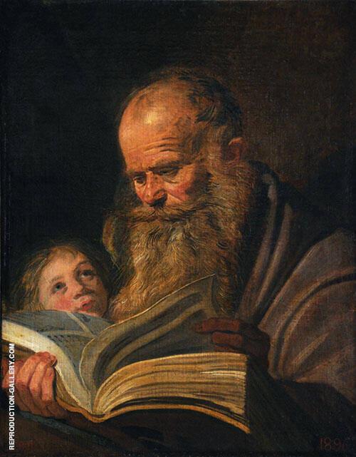 Matthew 1625 By Frans Hals