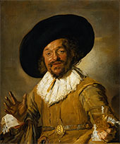 The Merry Drinker 1628 By Frans Hals
