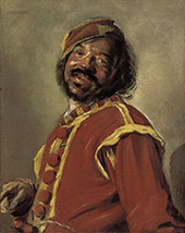 The Mulatto 1627 By Frans Hals