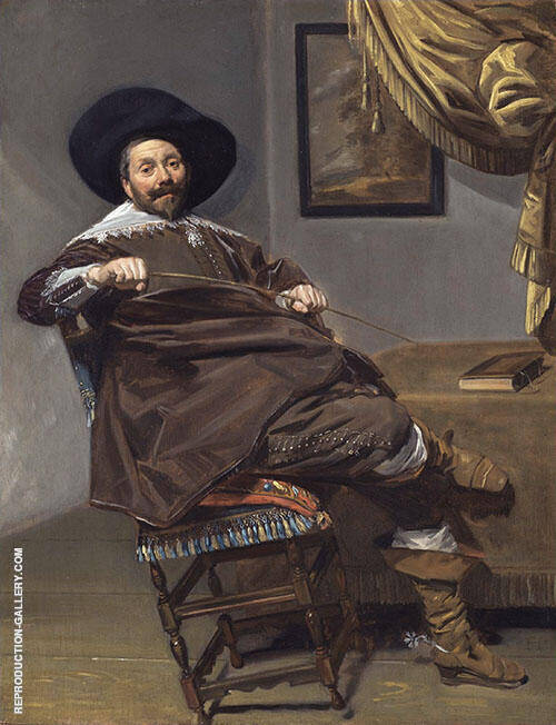 Willem Heythuijsen 1634 Painting By Frans Hals - Reproduction Gallery