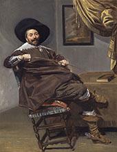 Willem Heythuijsen 1634 By Frans Hals