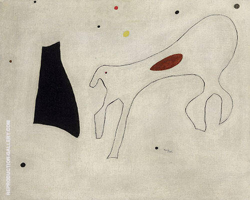 Le Chien 1927 By Joan Miro