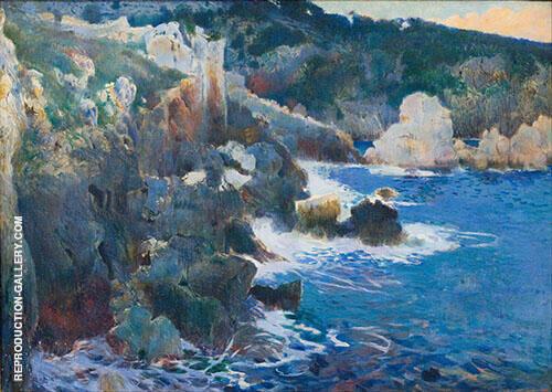 Cala Encantada Majorca 1901 By Joaquin Mir Trinxet