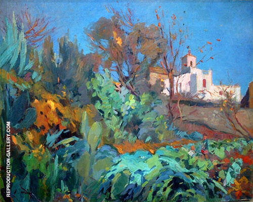 Landscape By Joaquin Mir Trinxet