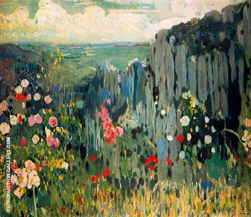 Primavera Montserrat By Joaquin Mir Trinxet
