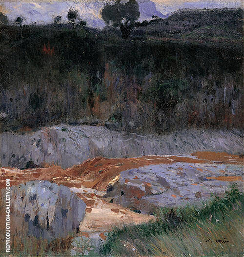 Red Earth 1921 By Joaquin Mir Trinxet